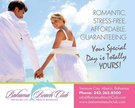 cmyk bahama beach resort wedding